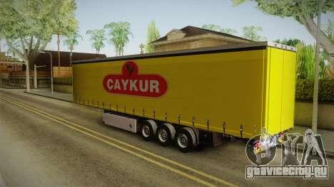 Caykur Trailer для GTA San Andreas вид слева
