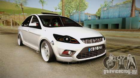 Ford Focus Sedan Air для GTA San Andreas