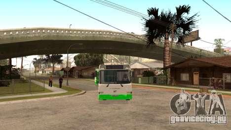 ЛиАЗ-6212 для GTA San Andreas вид справа