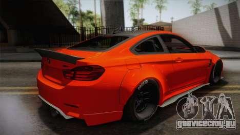 BMW M4 LB Performance для GTA San Andreas вид слева