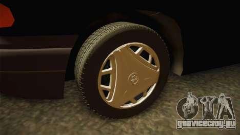 Opel Astra F для GTA San Andreas вид сзади