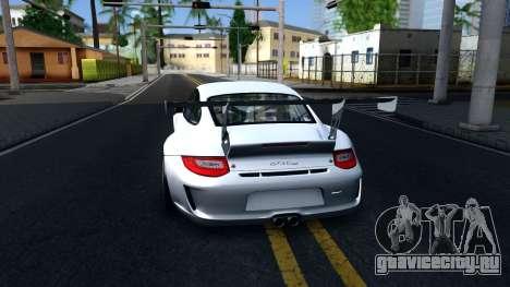 Porsche 911 GT3 Cup для GTA San Andreas вид сзади слева