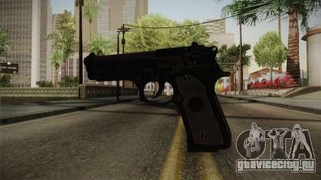 CoD 4: MW - Beretta M9 Remastered для GTA San Andreas второй скриншот