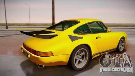 RUF CTR Yellowbird (911 930) 1987 для GTA San Andreas вид слева