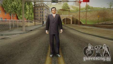 Mafia - Thomas Angelo Normal Suit для GTA San Andreas второй скриншот
