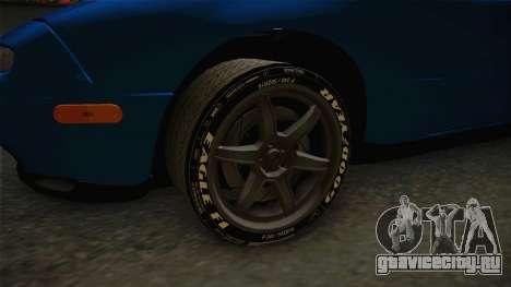 Mazda MX-5 1994 для GTA San Andreas вид сзади
