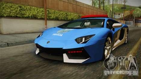 Lamborghini Aventador LP700-4 PMERJ для GTA San Andreas
