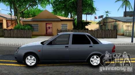 ВАЗ 2170 V3 для GTA San Andreas вид слева