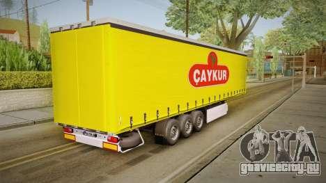 Caykur Trailer для GTA San Andreas вид справа
