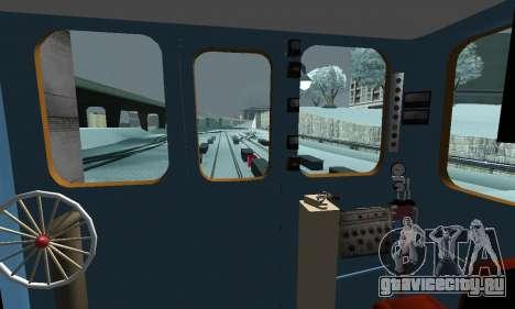 Состав типа Е ST_Metrostroi для GTA San Andreas колёса