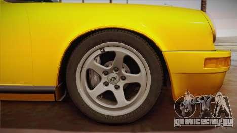 RUF CTR Yellowbird (911 930) 1987 для GTA San Andreas вид сзади