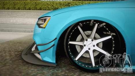 Audi RS5 Stance для GTA San Andreas вид сзади слева