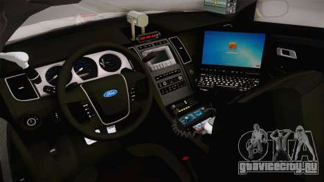 Ford Taurus Turkish Traffic Police для GTA San Andreas вид изнутри