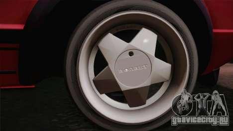 Volkswagen Golf Mk1 GTI для GTA San Andreas вид сзади слева