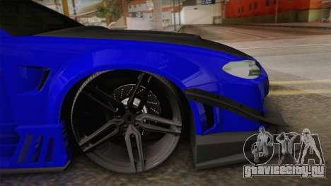 Nissan Silvia S15 Crew 99 для GTA San Andreas вид сзади слева