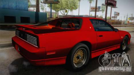 Pontiac Firebird Trans Am 1987 для GTA San Andreas вид слева