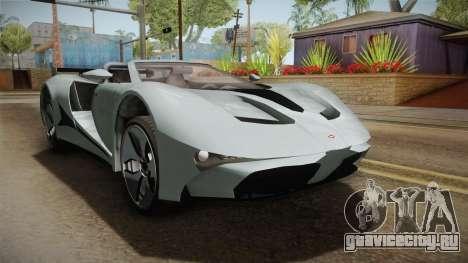 GTA 5 Vapid FMJ Roadster для GTA San Andreas вид справа