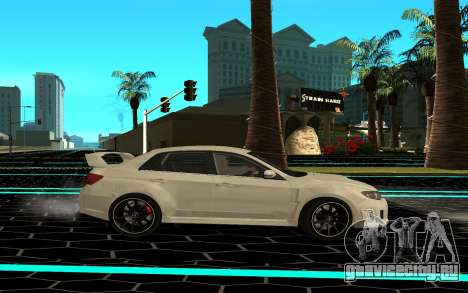 Subaru WRX STI для GTA San Andreas вид слева