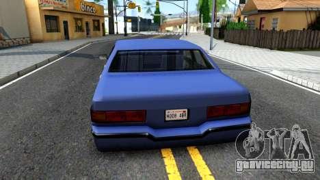Restyle Elegant для GTA San Andreas вид сзади слева