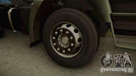 Iveco Trakker Hi-Land 6x4 Cab High v3.0 для GTA San Andreas вид сзади