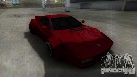 Ferrari 512 TR Rocket Bunny для GTA San Andreas вид сзади