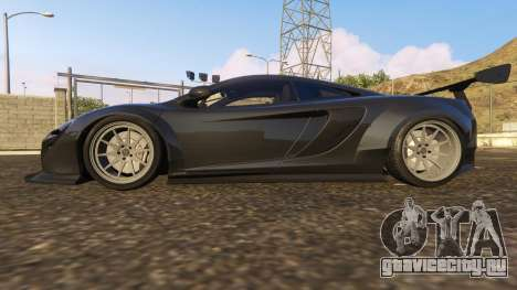 McLaren 650S Coupe Liberty Walk для GTA 5 вид слева