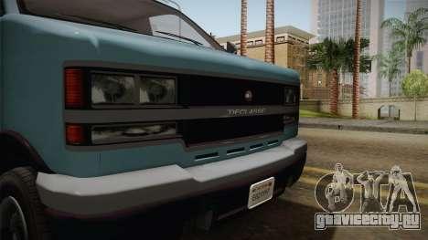 GTA 5 Burrito для GTA San Andreas вид сзади