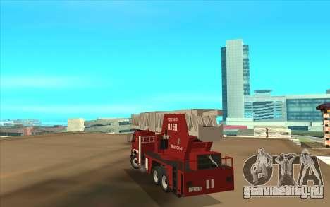 VOLVO FH13 для GTA San Andreas вид сзади слева
