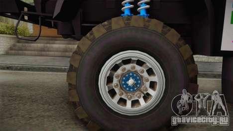 Iveco Petronas De Rooy для GTA San Andreas вид сзади слева