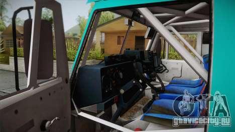Iveco Petronas De Rooy для GTA San Andreas вид сзади