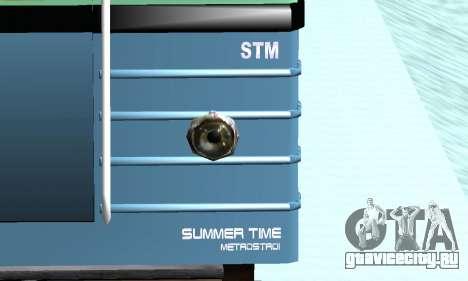 Состав типа Е ST_Metrostroi для GTA San Andreas