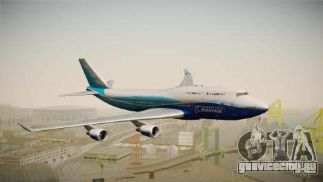 Boeing 747-400 House для GTA San Andreas вид сзади слева