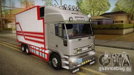 Iveco Eurotech 400E34 Tandem v2.0 для GTA San Andreas