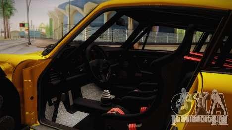 RUF CTR Yellowbird (911 930) 1987 для GTA San Andreas вид изнутри