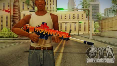 Vindi Halloween Weapon 5 для GTA San Andreas третий скриншот