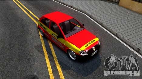 Chevrolet Celta для GTA San Andreas вид справа