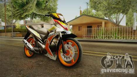 Honda RS150 Repsol Version для GTA San Andreas вид справа