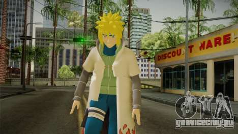 Minato Hokage Outfit для GTA San Andreas
