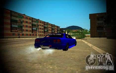 Nissan Skyline HR 34 для GTA San Andreas вид сбоку