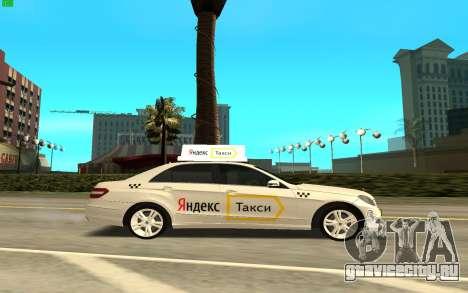 Mercedes-Benz E500 W212 для GTA San Andreas вид слева