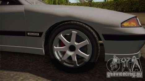 GTA 5 Zirconium Stratum Sedan для GTA San Andreas вид сзади