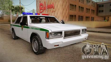 Brute Stainer 1993 Park Ranger для GTA San Andreas вид сзади слева