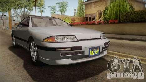 GTA 5 Zirconium Stratum Sedan для GTA San Andreas вид справа
