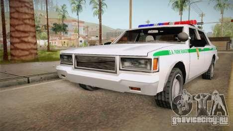 Brute Stainer 1993 Park Ranger для GTA San Andreas