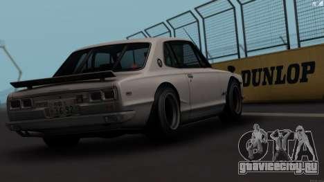 Nissan Skyline 3100 GT-Kai для GTA San Andreas вид справа