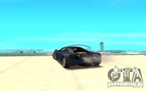 McLaren для GTA San Andreas вид сзади слева