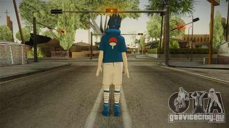NUNS4 - Sasuke Genin Normal Eyes для GTA San Andreas третий скриншот