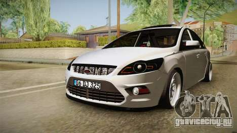 Ford Focus Sedan Air для GTA San Andreas вид справа