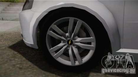 Chevrolet Aveo Turkish Police для GTA San Andreas вид сзади слева