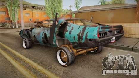 Ford Gran Torino Mad Max для GTA San Andreas вид слева